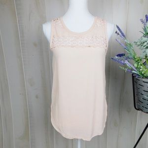 💐BOGO ASTR Blush Silk Sleeveless Blouse